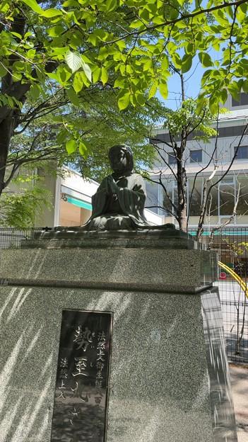 霊巖寺(江東区)勢至丸像