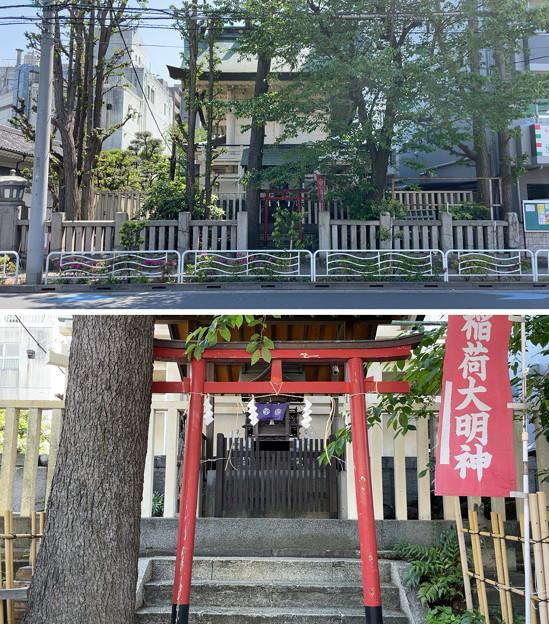 猿江神社(江東区)背面