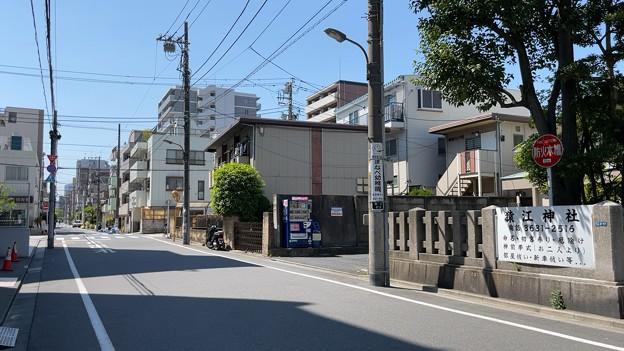 松平市正下屋敷跡(江東区)