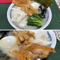 スガキヤラーメン + 伊達鶏 + 淡路島たまねぎ + 長野国産メンマ