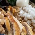 サッポロ一番しょう油ラーメン + 愛媛 国産メンマ + 福島 伊達鶏  + 淡路島たまねぎ + 静岡 ゆずパウダー