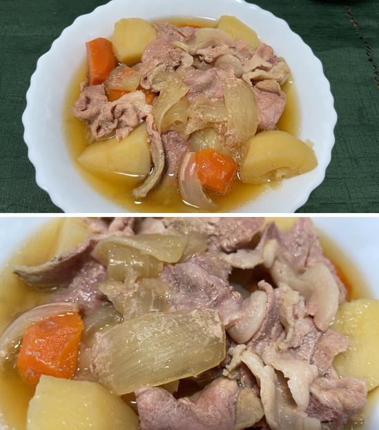 鹿児島黒豚――1肉じゃが + 淡路島たまねぎ