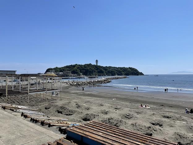 片瀬西浜鵠沼海水浴場(藤沢市)