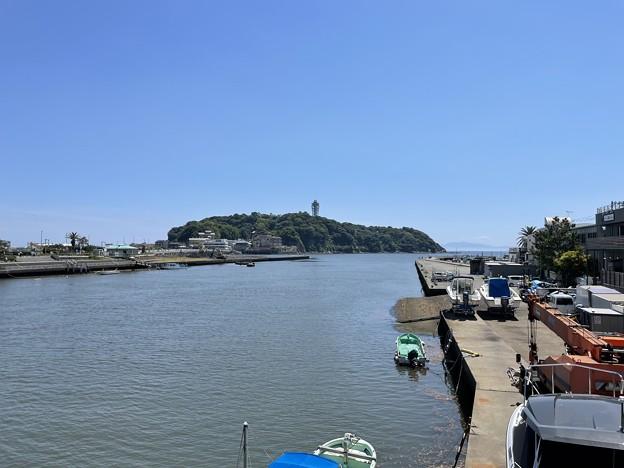 境川 河口(藤沢市)