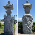 Photos: 江の島線 江島神社龍燈籠(藤沢市)