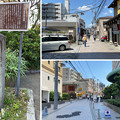 Photos: 江の島弁財天道標(藤沢市)すばな通り