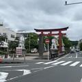 21.06.29.鶴岡八幡宮 二の鳥居(鎌倉市)