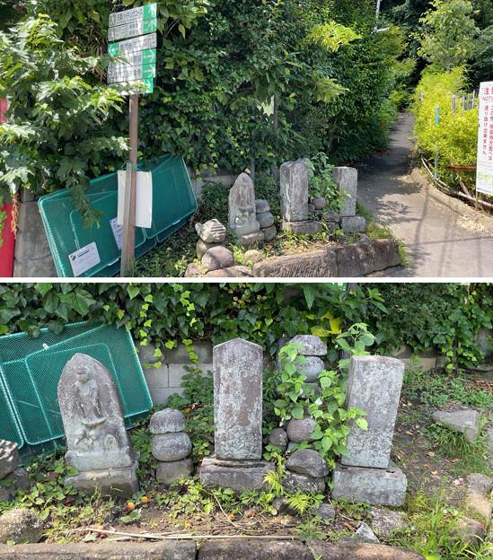 庚申塔・五輪塔・宝篋印塔ほか石碑群(鎌倉市)