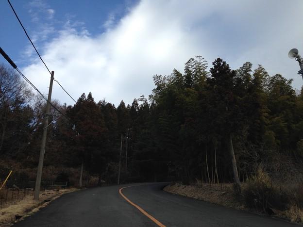 志田峠(東名厚木カントリー倶楽部。愛川町)
