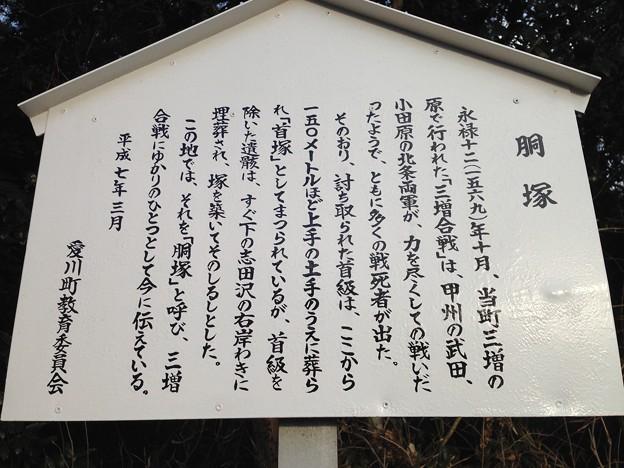 三増峠古戦場 胴塚(愛川町)