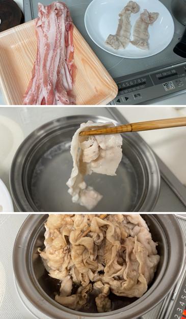 千葉 いも豚2バラ肉――豚しゃぶ丼1