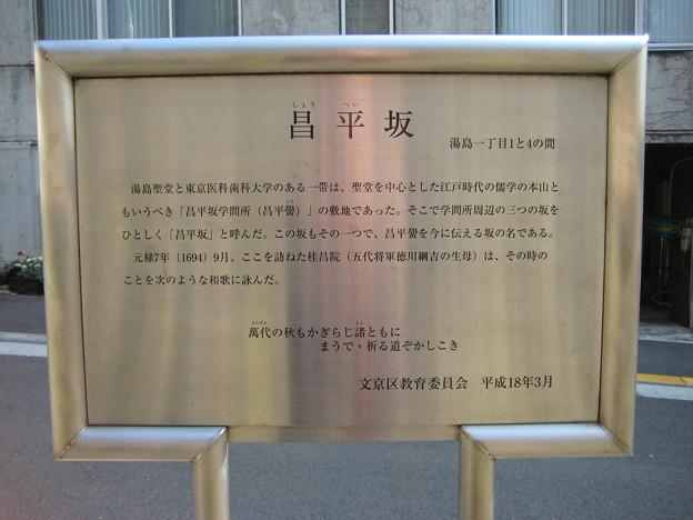 昌平坂(湯島1丁目)