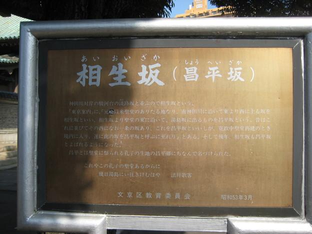 相生坂(湯島1丁目)