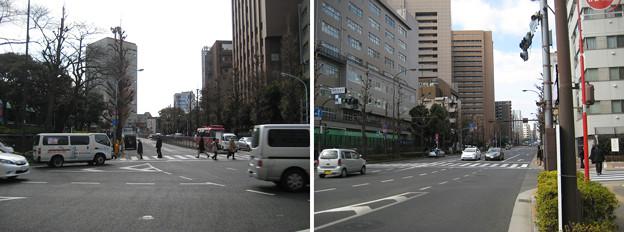 Photos: 11.02.10.湯島聖堂前交差点 南・西(湯島1丁目)