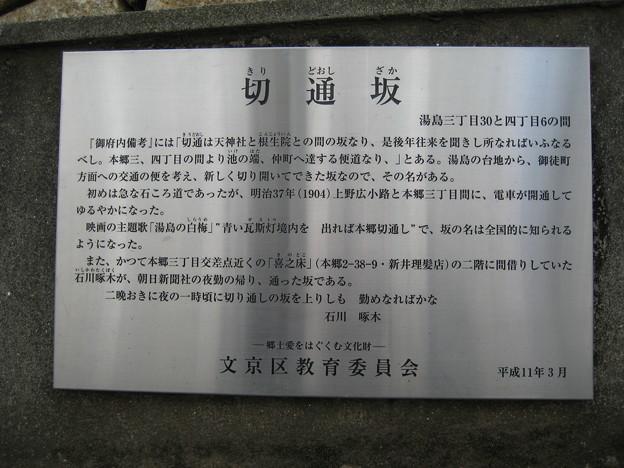 切通坂(文京区湯島)
