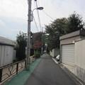 薮下通り(千駄木2丁目)南向き
