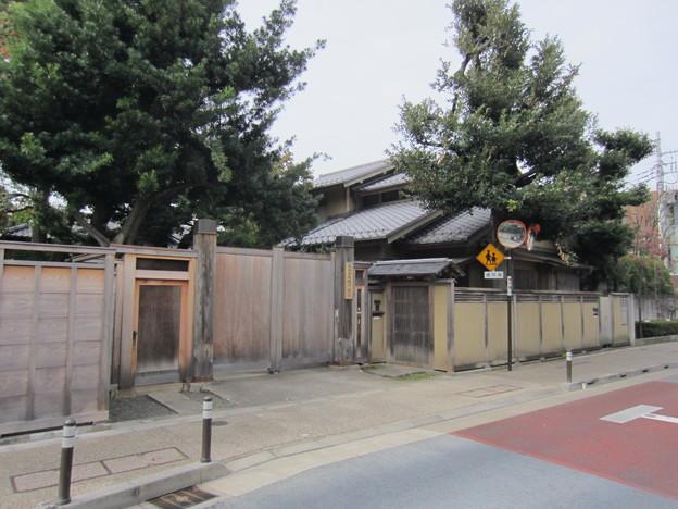 旧安田楠雄邸庭園(千駄木5丁目)大山茂十郎屋敷跡