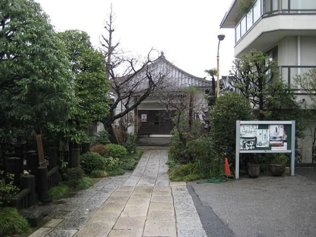 定泉寺(本駒込1丁目)