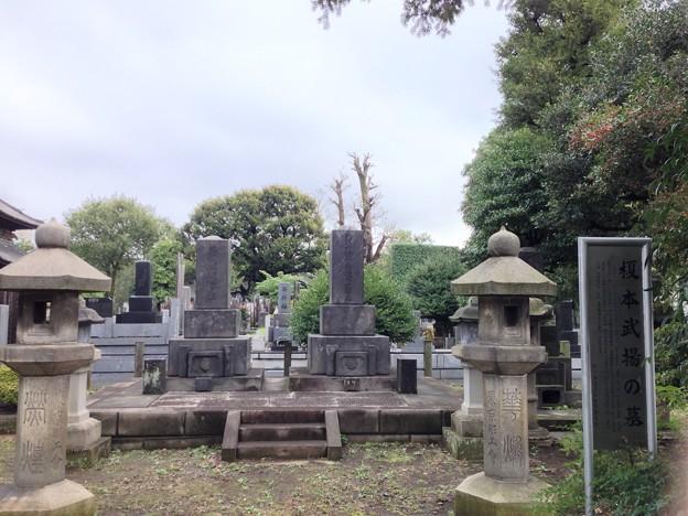 吉祥寺(本駒込3丁目)榎本武揚墓