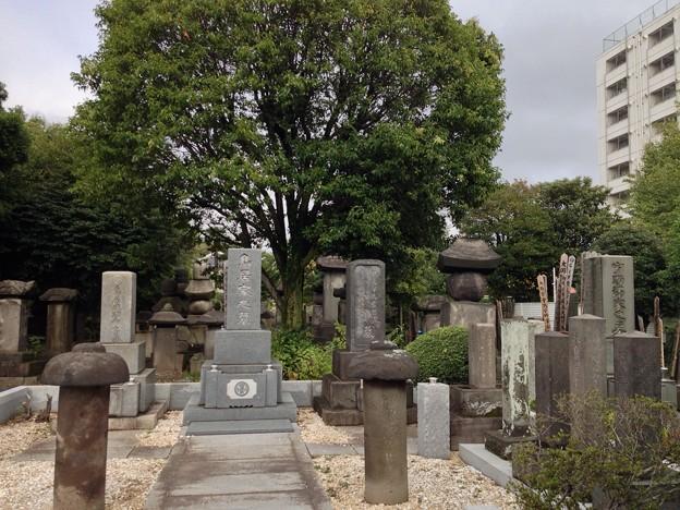 吉祥寺(本駒込3丁目)旗本鳥居家墓所