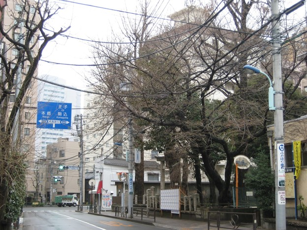 駒込富士神社前(本駒込5丁目)