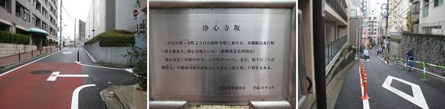 11.03.22.浄心寺坂上近く(白山1丁目)駒込片町・白山前町