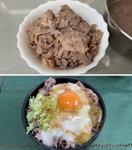 米沢牛――1とろろ牛しゃぶ丼
