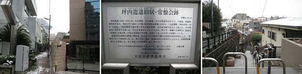 11.03.07.坪内逍遥旧居・常磐会跡(文京区)右、炭団坂