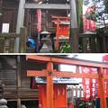 11.03.07.櫻木神社(本郷4丁目)見送稲荷神社