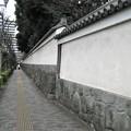 水戸殿上屋敷跡(文京区小石川)小石川後楽園 築地塀