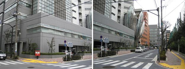11.02.14.田丸六蔵屋敷跡内(後楽1丁目)合同庁舎裏交差点