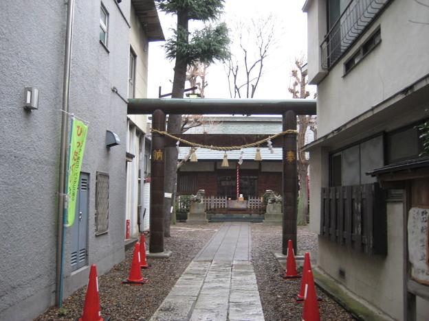 小石川諏訪神社(後楽2丁目)