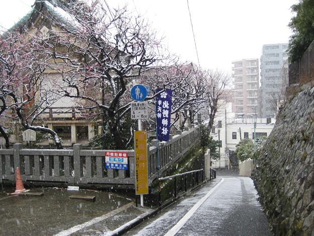 11.03.07.北野神社(牛天神。春日1丁目)牛坂