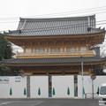 小石川伝通院(文京区)山門