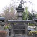 小石川伝通院(文京区)亀松墓