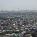 木更津かんらんしゃパーク キサラピア大観覧車から君津方面を眺めたところ