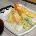 海の天ぷら盛合せ