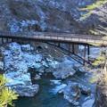 渓谷の橋~