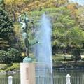 公園の噴水~