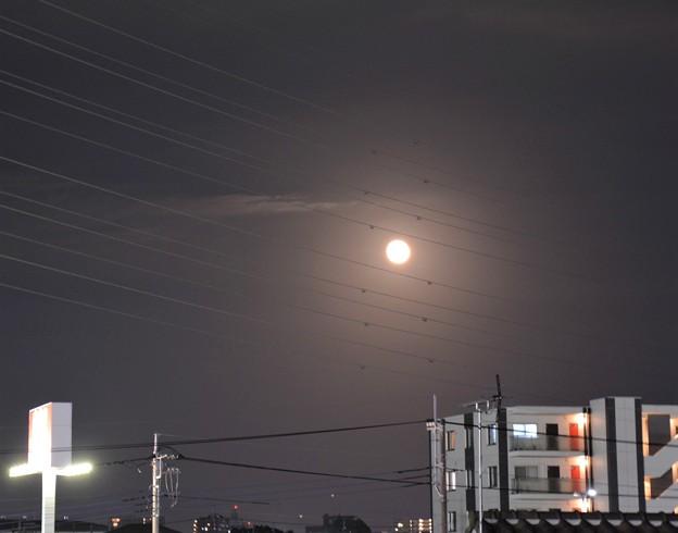 ある日の満月~