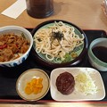 Photos: 山田うどん スパイシー カレー炒め丼セット