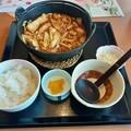 味の民芸  尾張風 味噌煮込みうどん ご飯