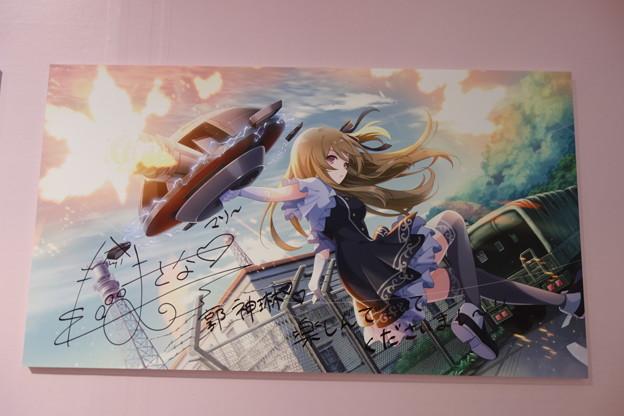 アサルトリリィ 神琳役 星守紗凪 サイン入りキャンバスボード