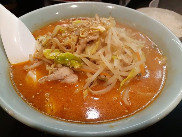 辛味噌タンメン ( ゚Д゚)ピリ辛ウマー