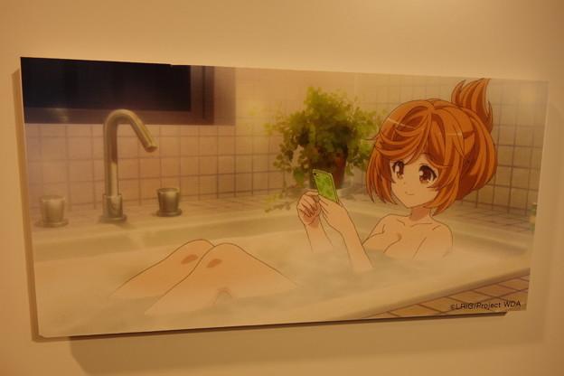 アキノちゃん入浴シーン♪