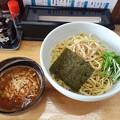麺屋ひばり チーズ ピリ辛みそつけ麺