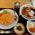 Photos: 山田うどん キムチチャーハン Bセット クリームコロッケ