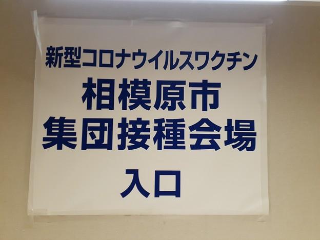 Photos: ワクチン接種 1回目してくる(>_<)