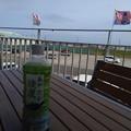 海の駅九十九里でお茶タイム