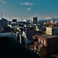 五階から見た町並み